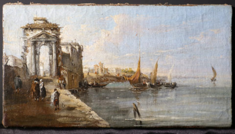 Marina - Francesco Guardi (School of)